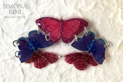 Un bracciale primaverile con farfalline – A spring bracelet with butterflies