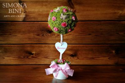 Albero della nascita per una bimba – Birth tree for a girl