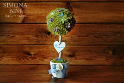 Albero della nascita per un bimbo – Birth tree for a boy