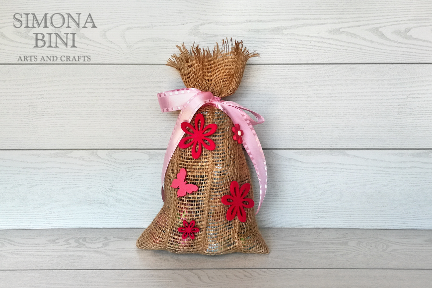 Sacchetto di Pasqua in rosa –  Pink Easter bag