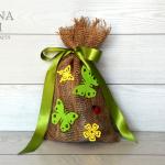 Sacchetto di Pasqua in verde –  Green Easter bag