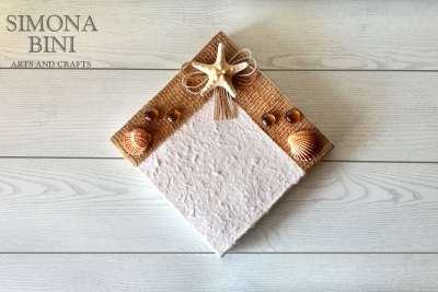 Scatola per l'estate con stella marina – Summer box with starfish