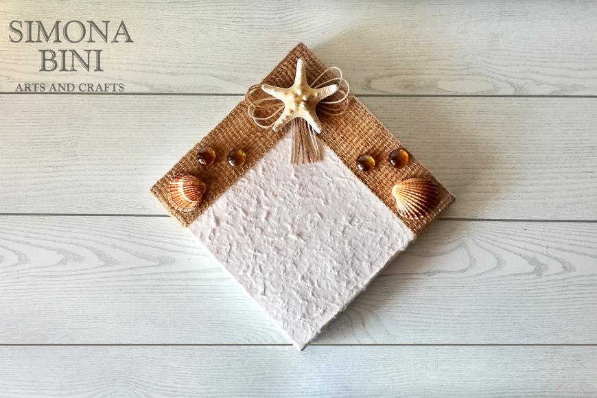 Scatola per l'estate con stella marina – Summer box with starfish