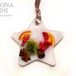Decorazione profumata a forma di stella – Star-shaped scented decoration